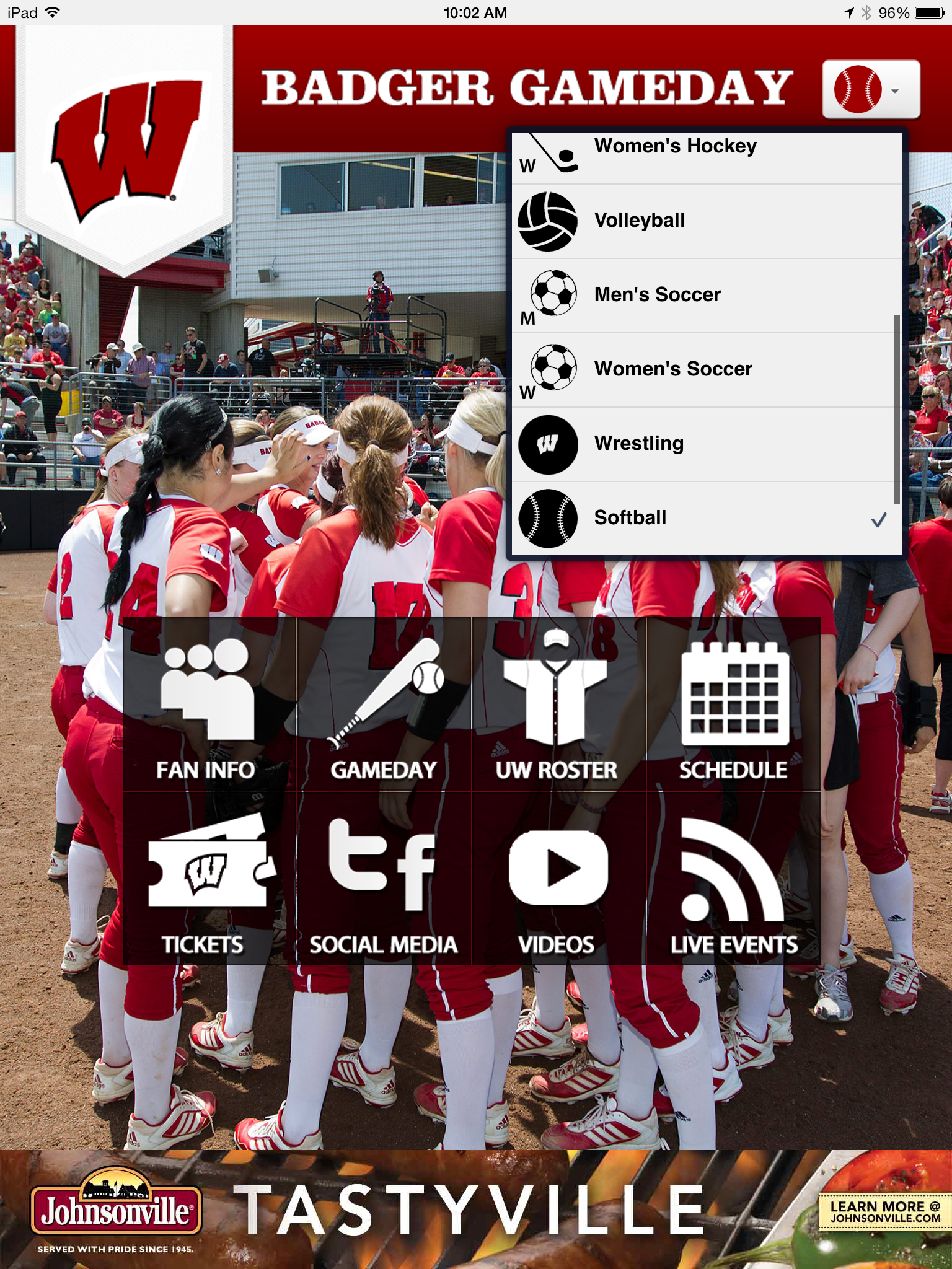 Softball Is Now On The Gameday App Once Stop For Livestats Gameday Blog Live Watch Social Media Roster And Schedule I Softball Fan Women S Hockey Gameday