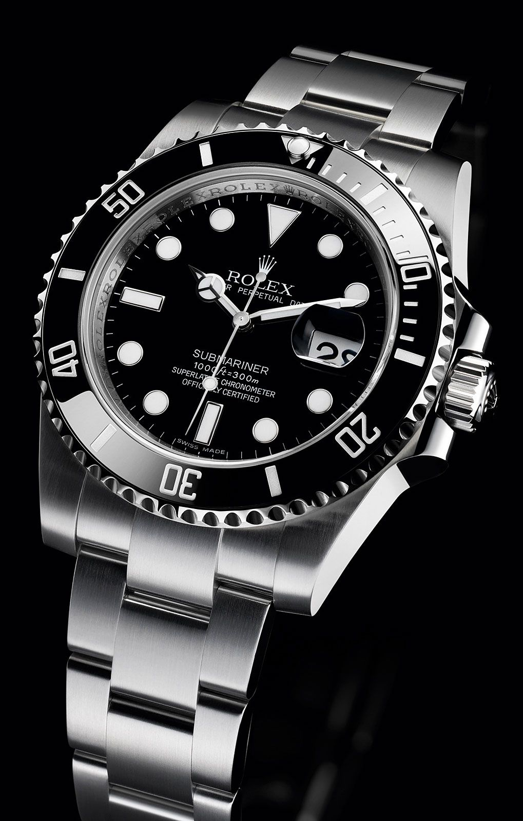 37172ecf337 Rolex Oyster Perpetual Submariner diving watch