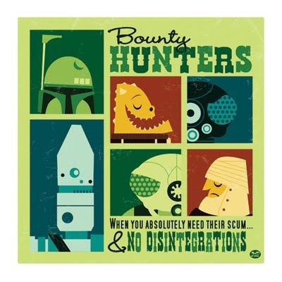 Bounty Hunters, when you absolutely need their scum...& No Disintegrations #StarWars