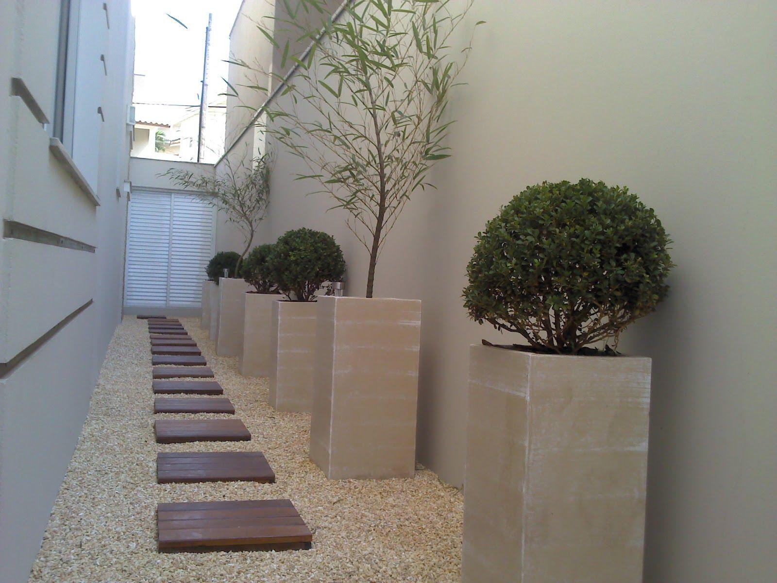 Ra zes paisagismo reforma corredor antes e depois - Reformas pisos pequenos ...