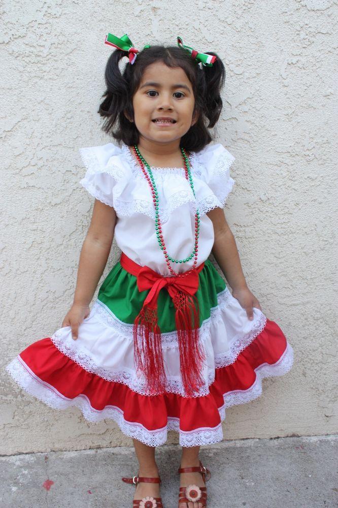 details about mexican girl children dress fiesta 5 de