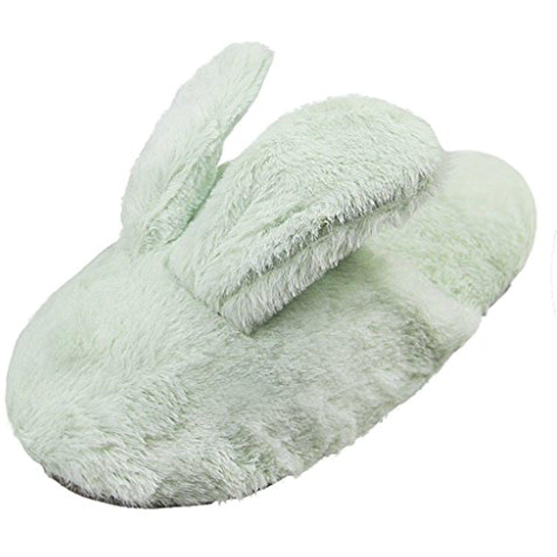 Cartoon Rabbit Cozy House Slippers e677c788df