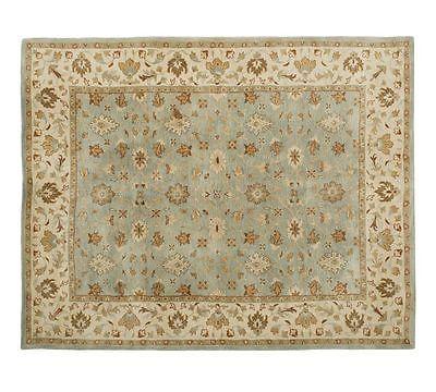 Brand New 8x10 10x8 Malika Persian Style Handmade Woolen
