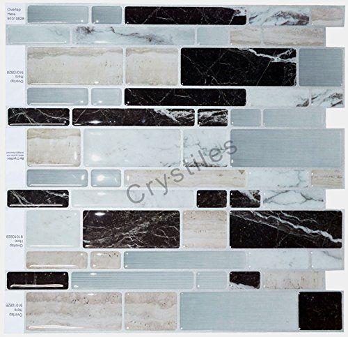 Crystiles Peel And Stick Self Adhesive Vinyl Wall Tiles Https Smile Amazon Com Dp B01dr191hg Ref Cm Vinyl Wall Tiles Vinyl Wall Self Adhesive Wall Tiles
