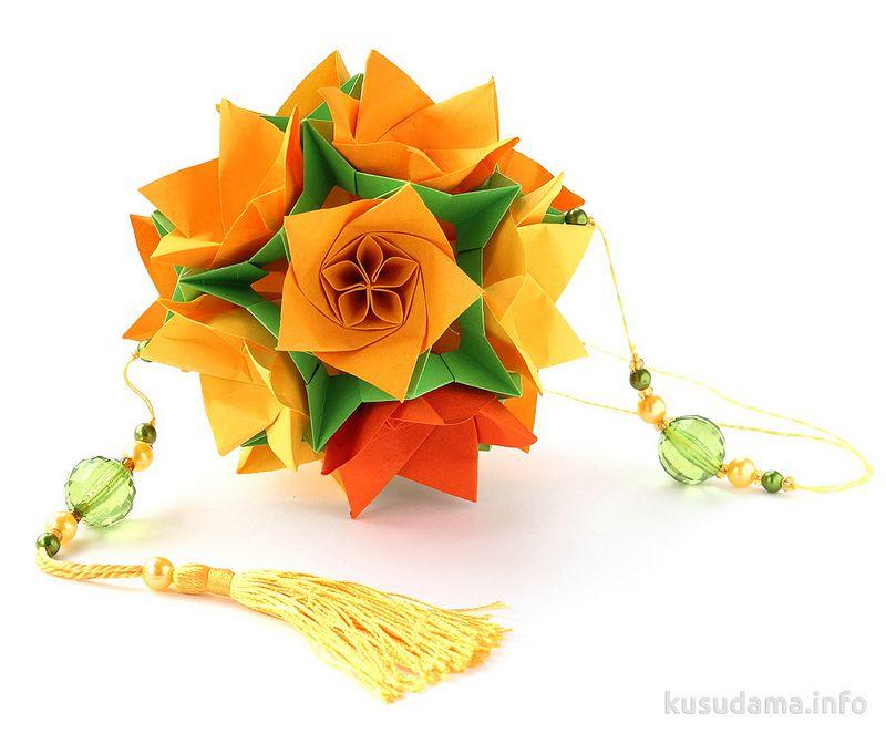 Flower kusudama pinterest origami flower and modular origami flower kusudama mightylinksfo