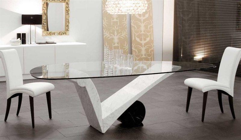 Chaises salle à manger modernes u2013 tout est dans la sobriété - salle a manger design moderne