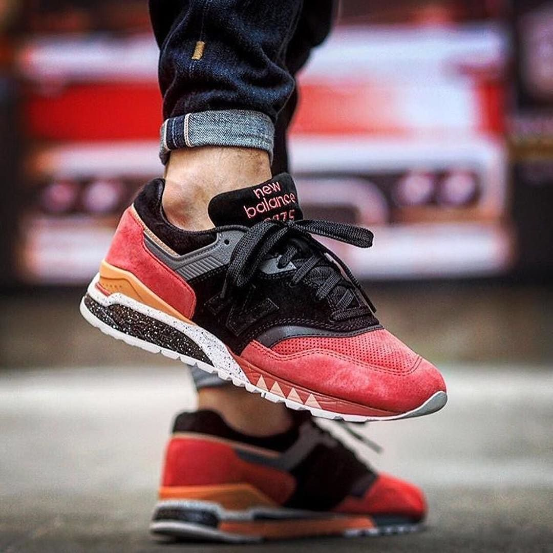 official photos 3a695 b58f8 Sneaker Freaker x New Balance 997.5 'Tassie Tiger' by ...