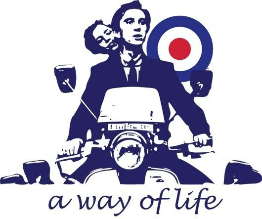 Quadrophenia A Way Of Life Vespa Mod Scooter Beautiful Bike