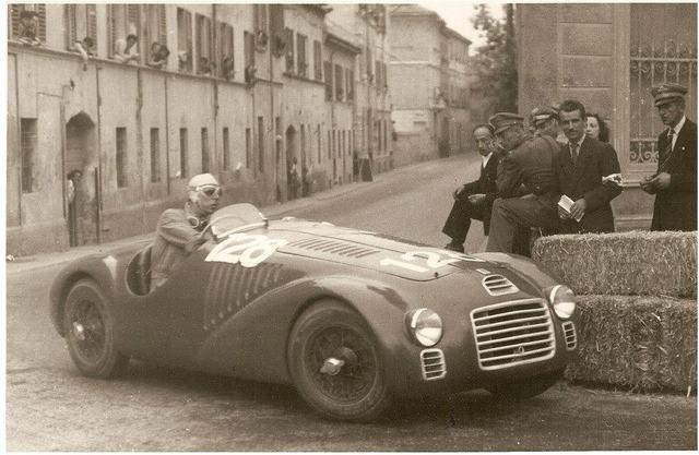 1947 Franco Cortese Ferrari 125s Circuito Di Piacenza Roberts
