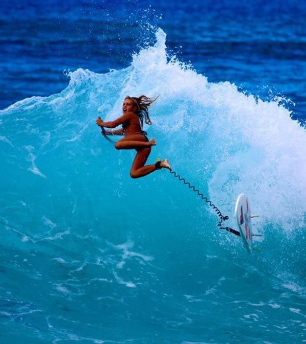 Surf Lesson With A Hot Woman Causes Confusion Between