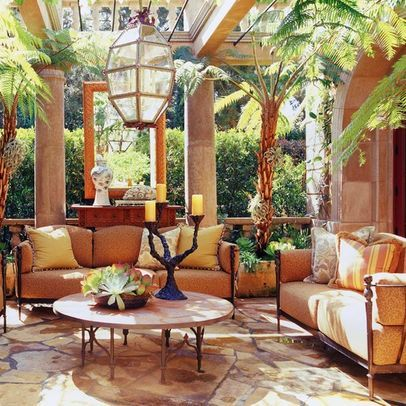 Spanish Style Enclosed Patio Design, Pictures, Remodel ...