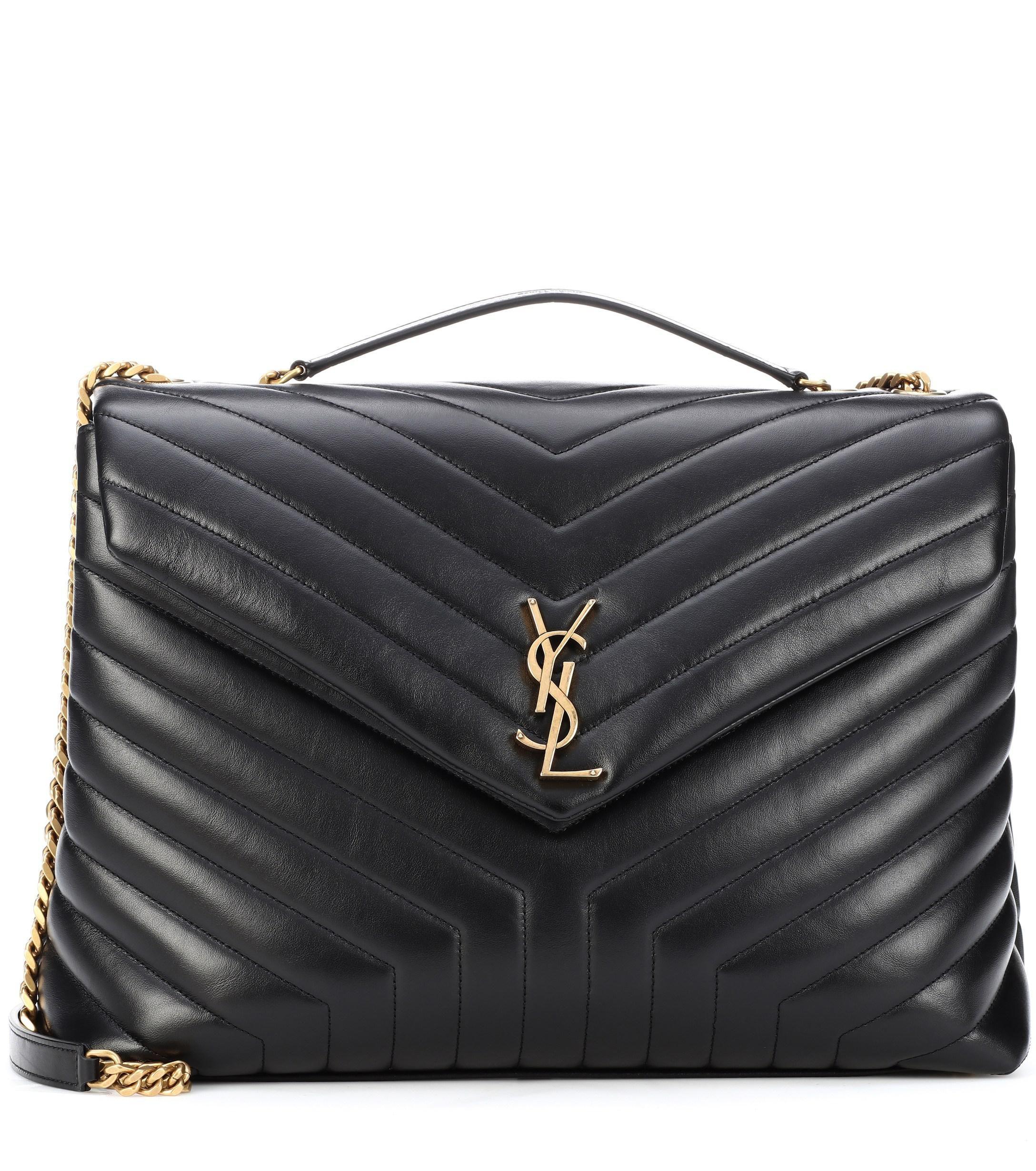 b127b2a6 Women's Black Large Loulou Monogram Shoulder Bag in 2019 | shoulder ...