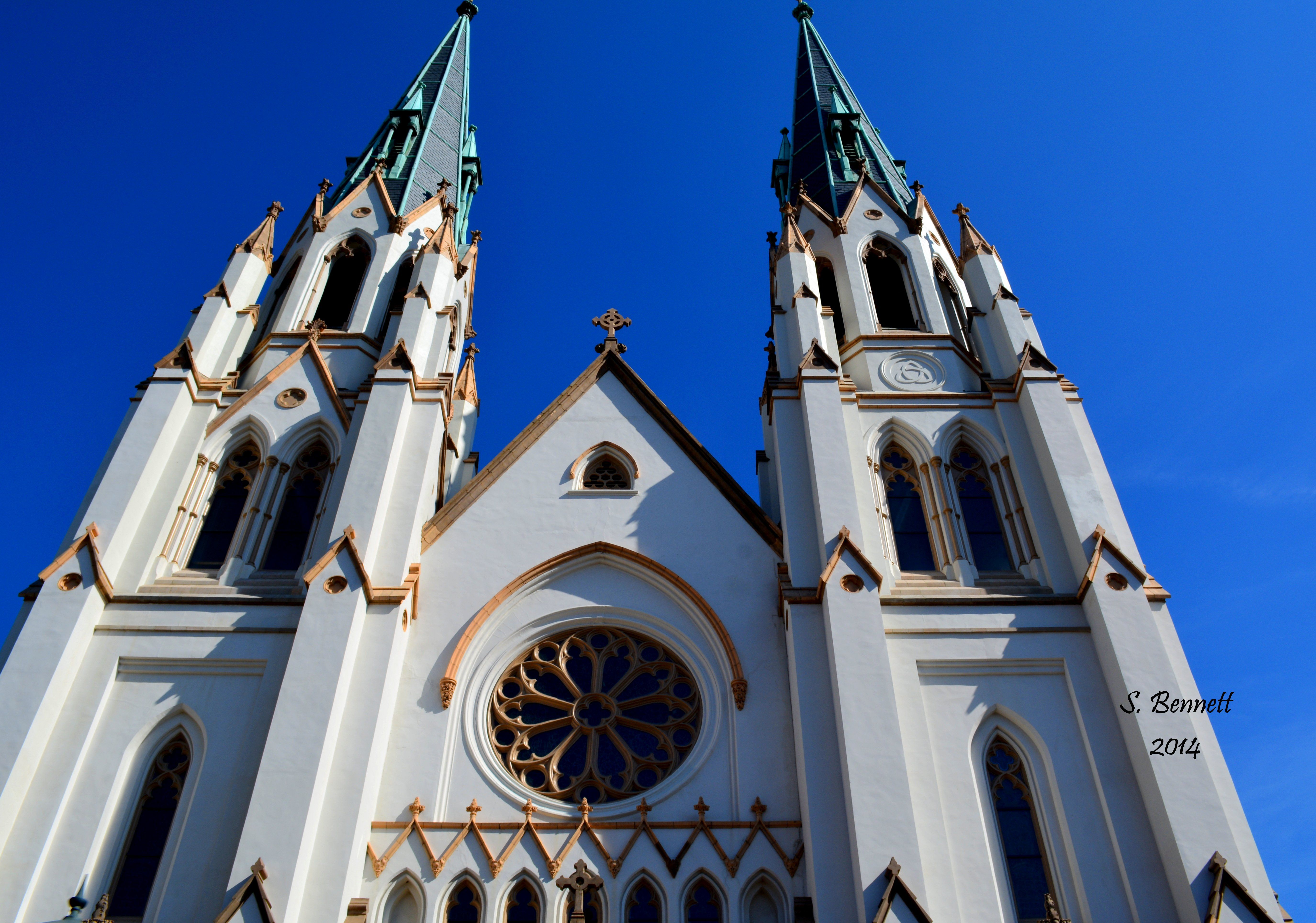 Cathedral Of St. John The Baptist In Savannah Georgia