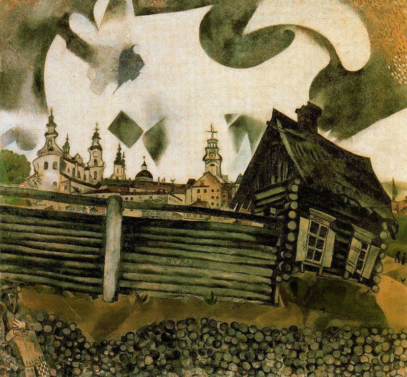 Картинки по запросу house in vitebsk chagall