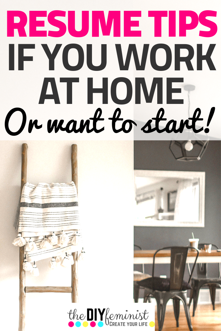 9 Critical Work from Home Resume Tips Resume tips