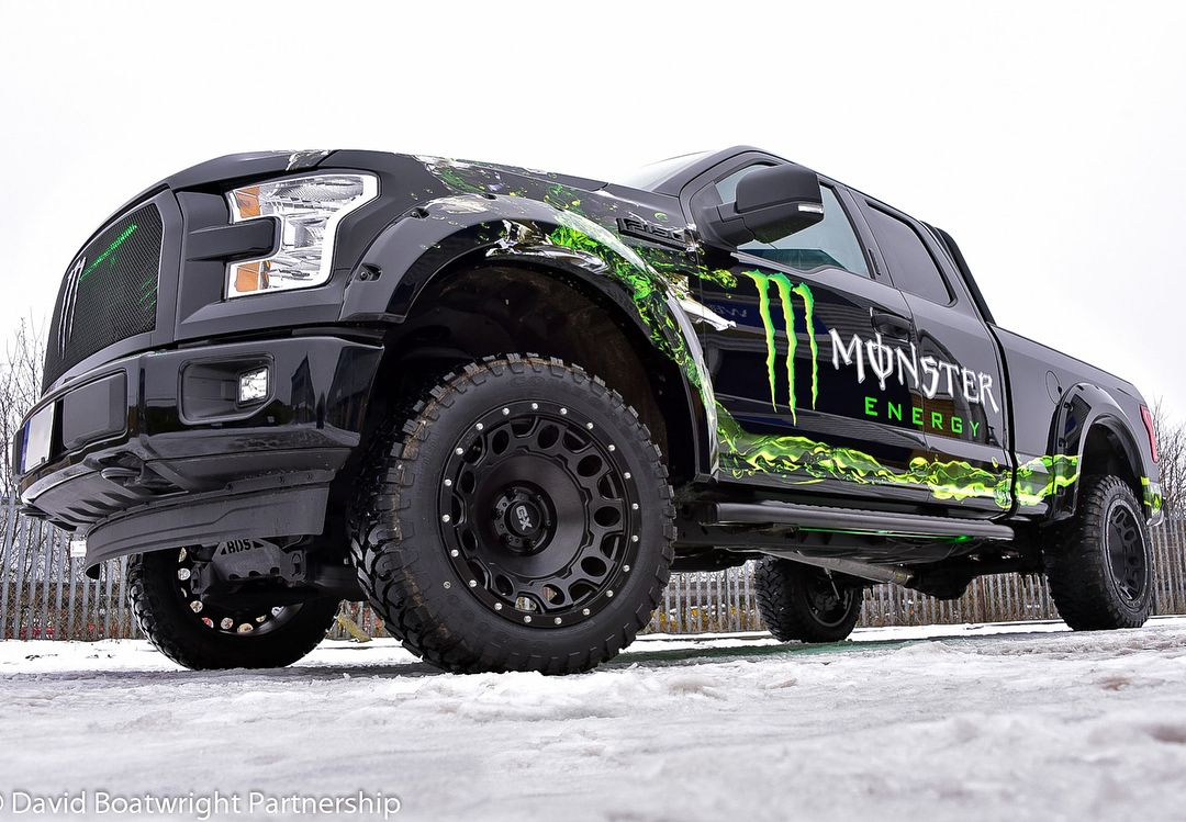 David Boatwright Partnership Boatwrightcars Very Proud To Be Working With Monsterenergy In The Uk Custom American Pickup Trucks Cars Uk Lifted Ford Truck