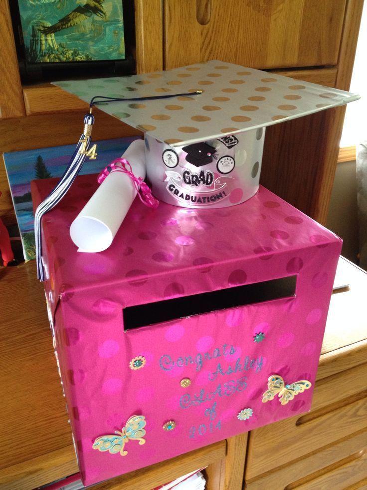 46 graduation party ideas centerpieces card boxes