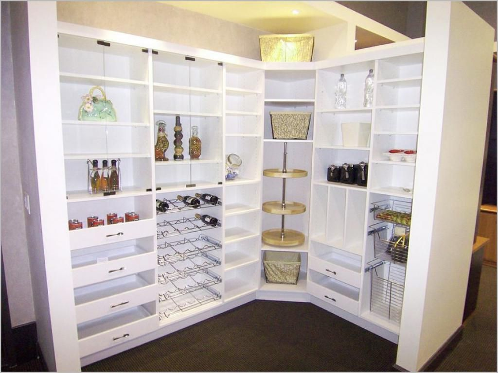 White Kitchen Pantry Cabinet Modern Design Ideas With Elegance ...