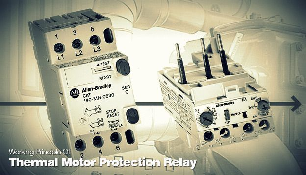Working Principle Of Thermal Motor Protection Relay Energy and