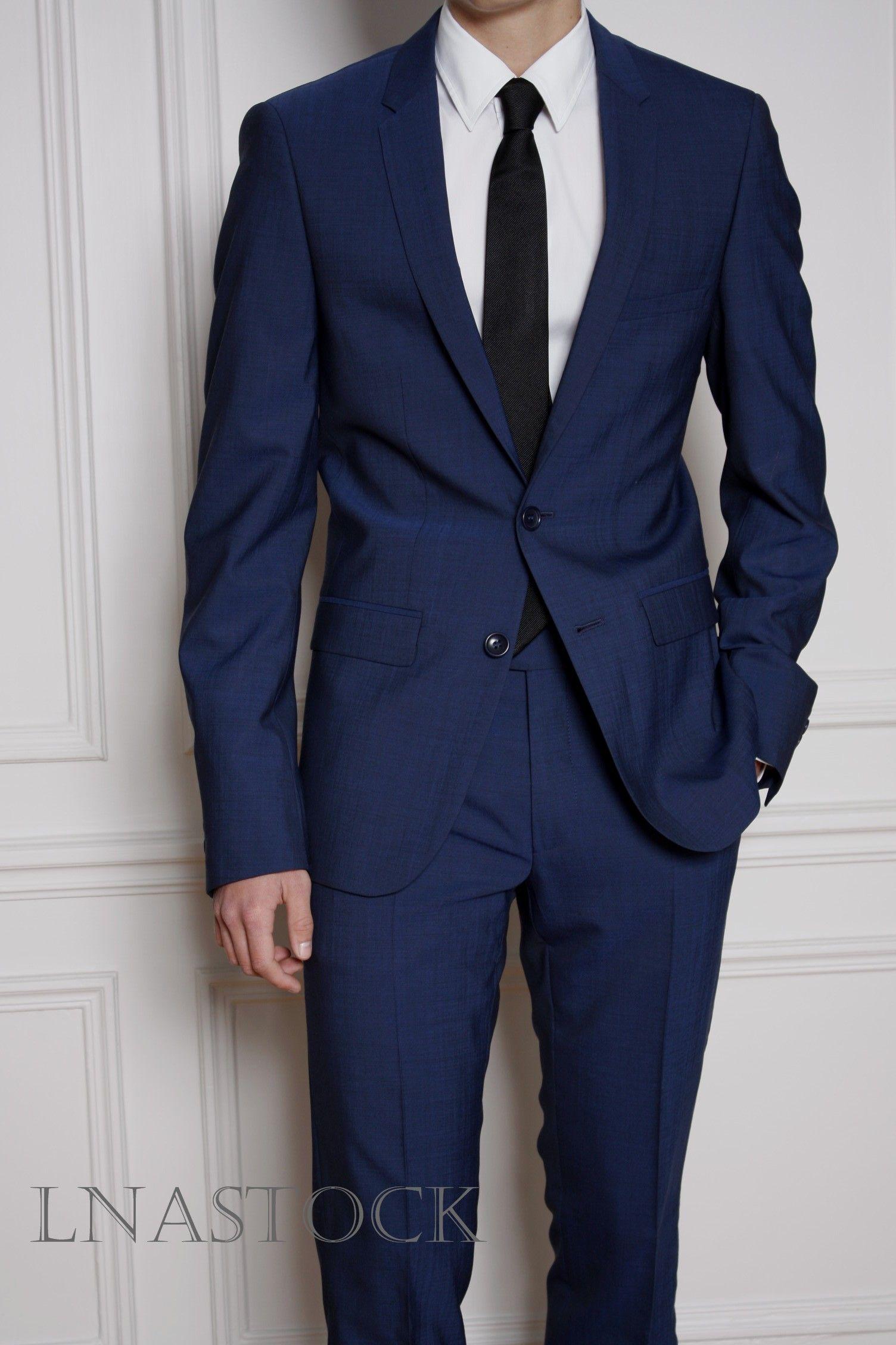 Costume Lanificio F.lli Cerruti 1881 bleu tendance   Costume ... 462b4698bcc0