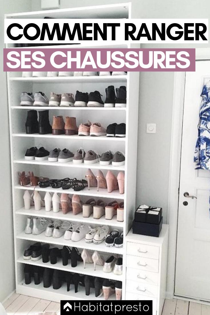 Rangement À Chaussures Gain De Place trop de chaussures ? 6 astuces pour les ranger facilement
