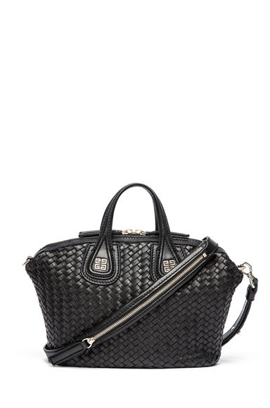 GIVENCHY Nightingale Micro Woven in Black