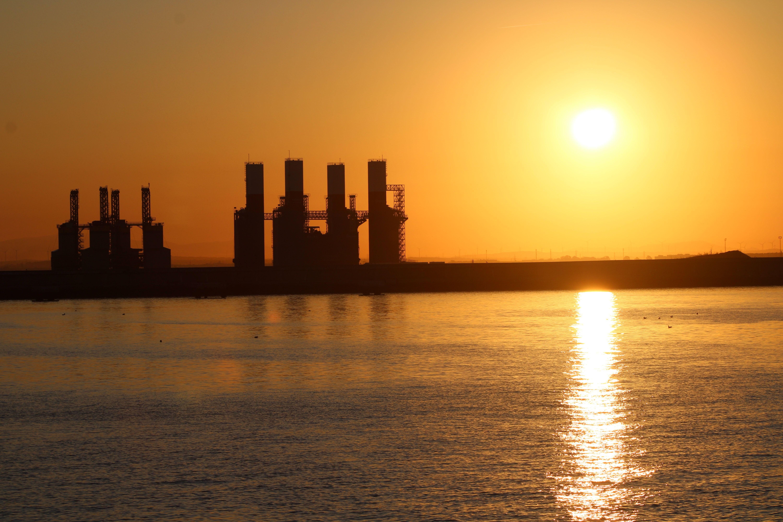 fotografías realizadas desde el catamarán de la entrada del puerto de Cádiz