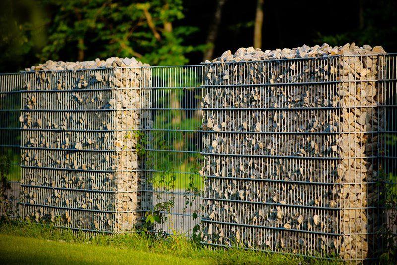 Ogrodzenia gabionowe na topie