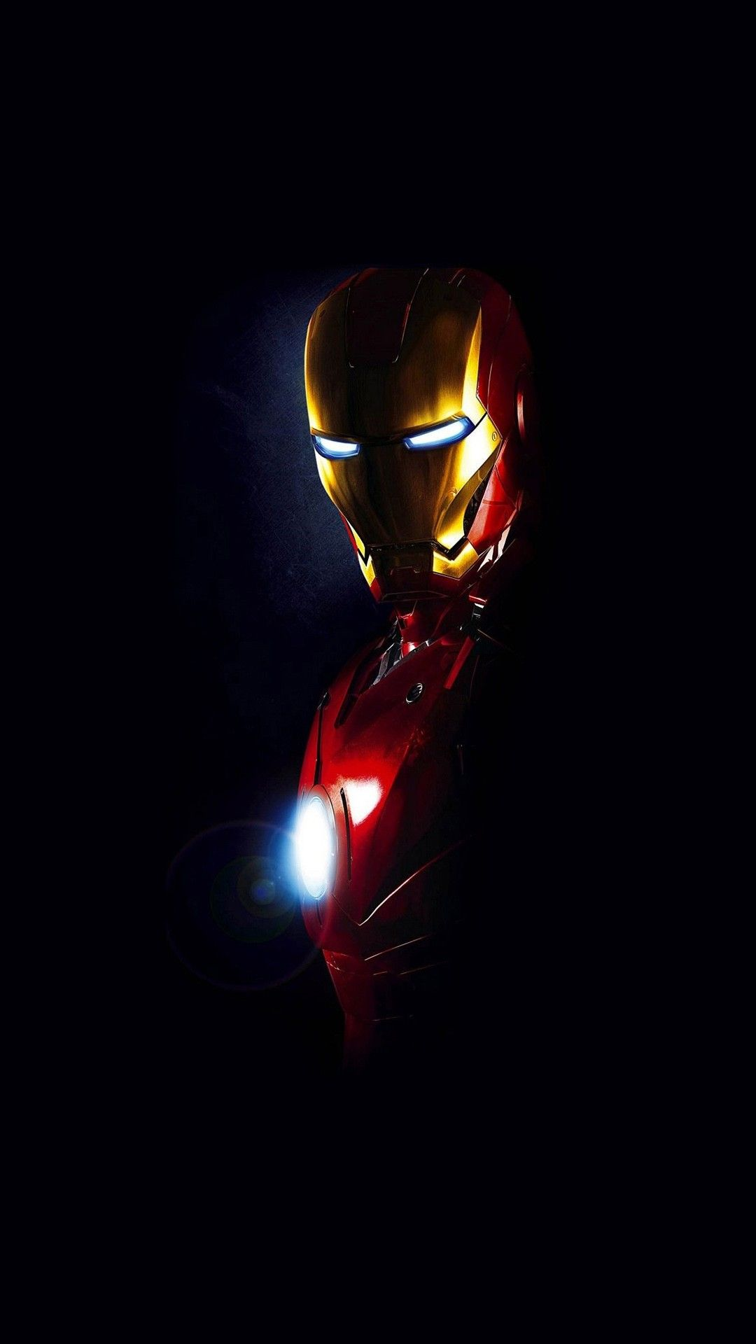 Iron Man Shadow Minimal Smartphone Wallpaper And Lockscreen
