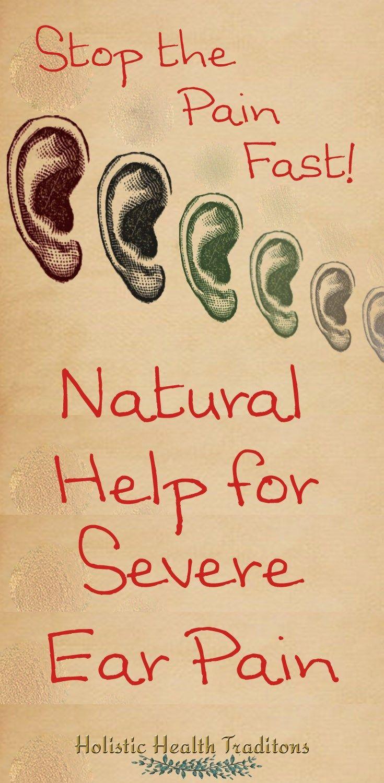 Ayuda natural para el dolor de oído severo Salud Dolor de oído-1143