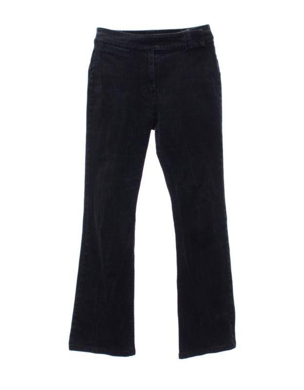 Tommy Hilfiger Size 8 Black Stone Acid Mineral Wash Tab Waist Womens D – Rewear Clothing