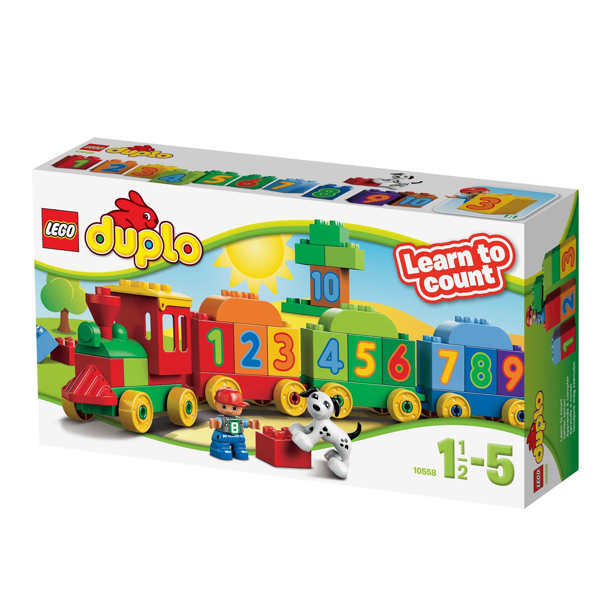 Lego Duplo 10558 Number Train Lego Amazoncouk Toys Games