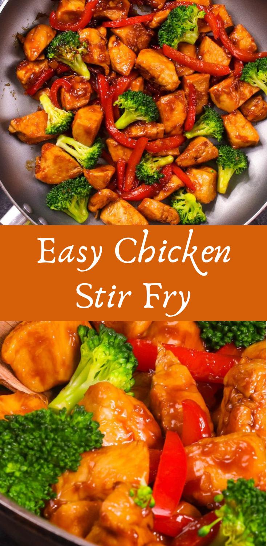 Easy Chicken Stir Fry Stir Fry Recipes Healthy Easy Stir Fry Recipes Chicken Easy Chicken Stir Fry