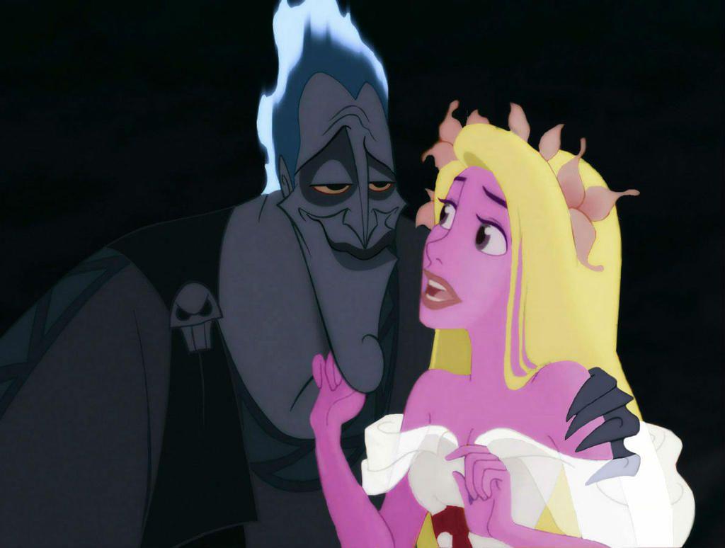 Hades and Persephone by MissJulyFarraday on DeviantArt