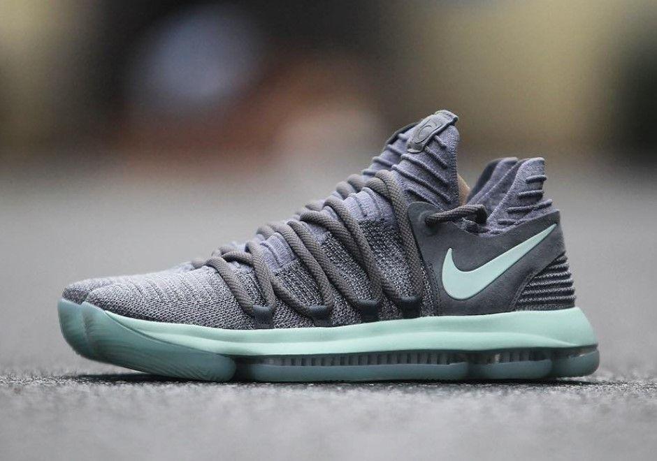 brand new a7210 c2a1c Nike Kevin Durant 10 Igloo Cool Grey Igloo-White July 14, 2017 897816-002   150