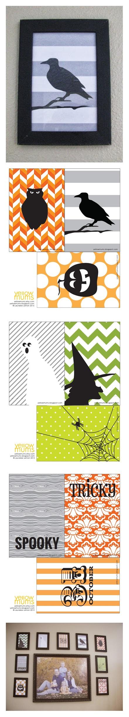 9 Imprimables Au Format 4x6 Halloween Printables Halloween Diy Halloween Crafts
