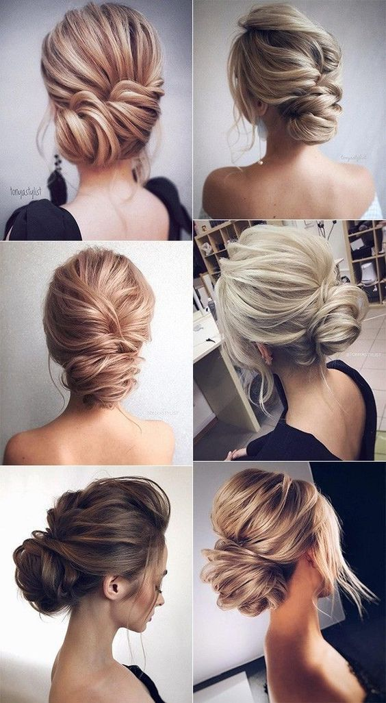 Best Hairstyle For Thin Face | Updos Short Hair | Wedding Hairstyles ...