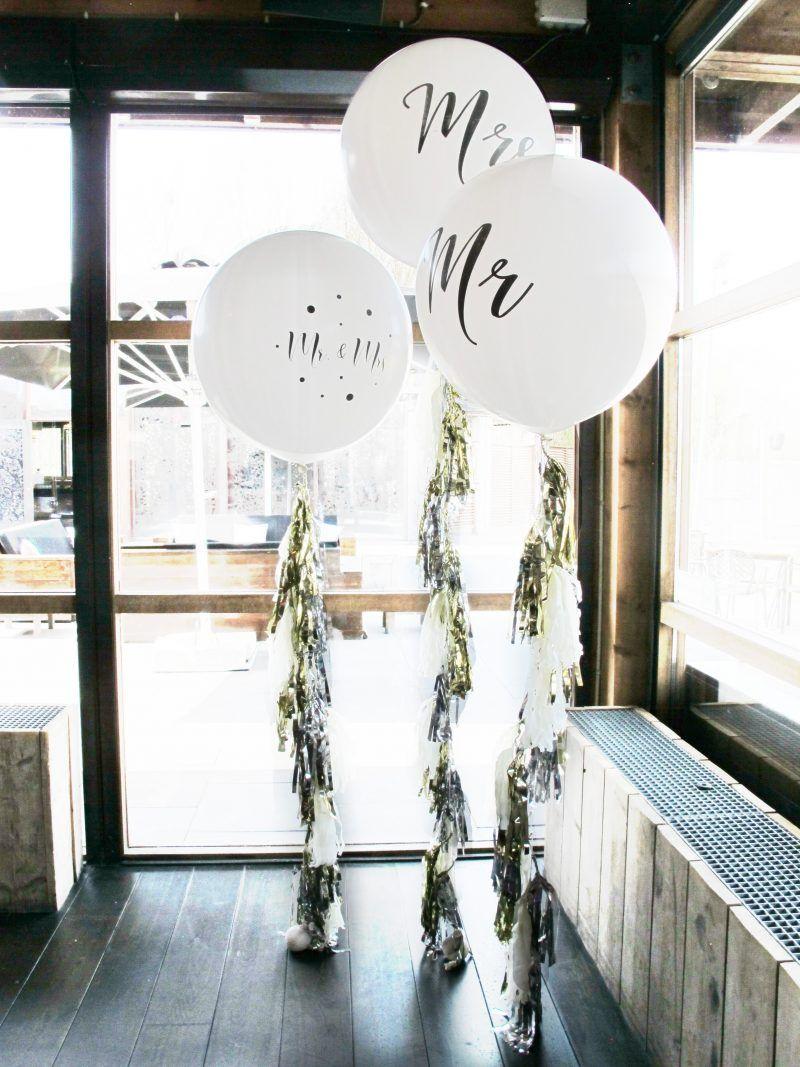 Ballonnen Bruiloft Party Ideas In 2019 Bruiloft