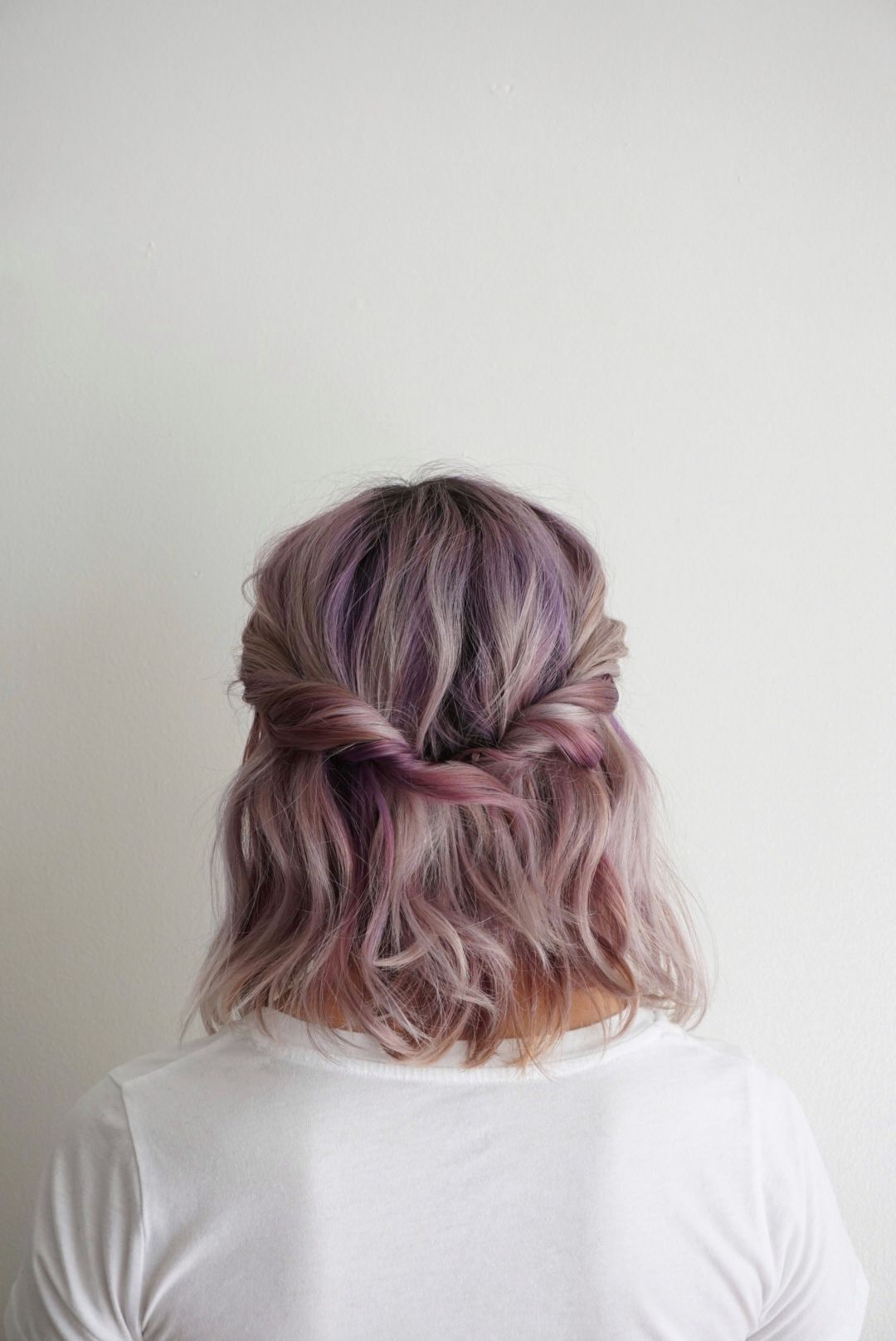 Half Up | Hairstyle | Twist Love the color | Gotta Get Him Out My ...