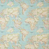 Wall paper my dream bedroom pinterest wall papers john lewis buy john lewis world map furnishing fabric blue from our furnishing fabrics range at john lewis gumiabroncs Image collections