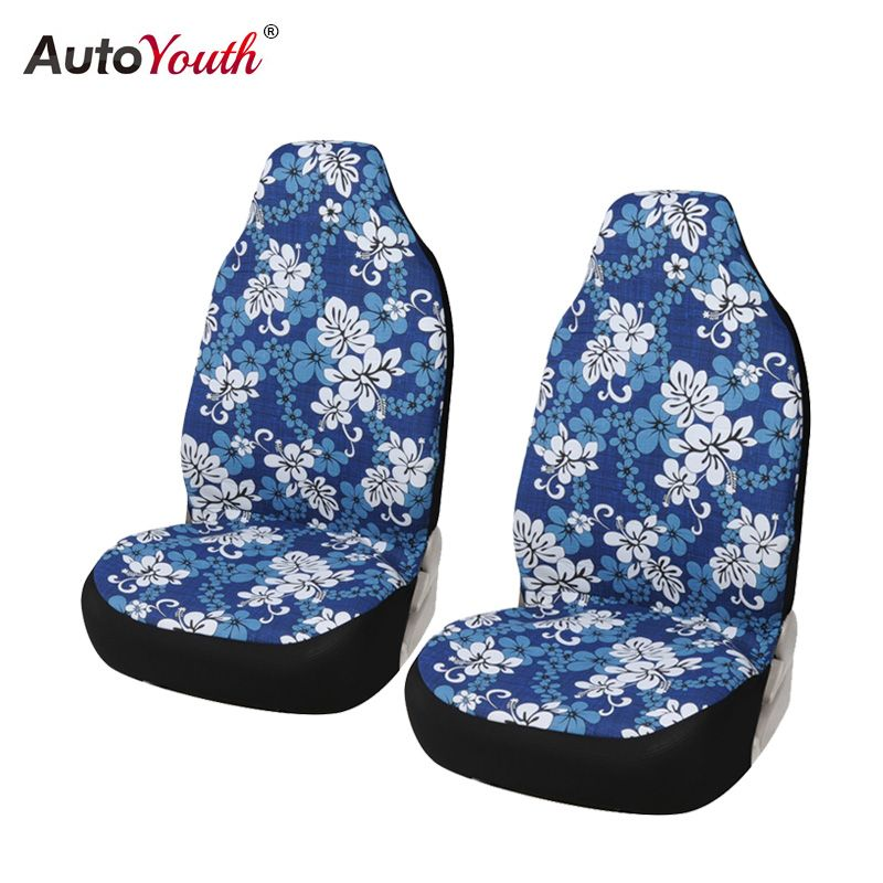 Us 20 99 100 Cotton Car Seat Cover Supports High Back Bucket Autoyouth Universal 2pcs 2pcs Autoyouth Bucket Seat Covers Car Bucket Seats Car Accessories