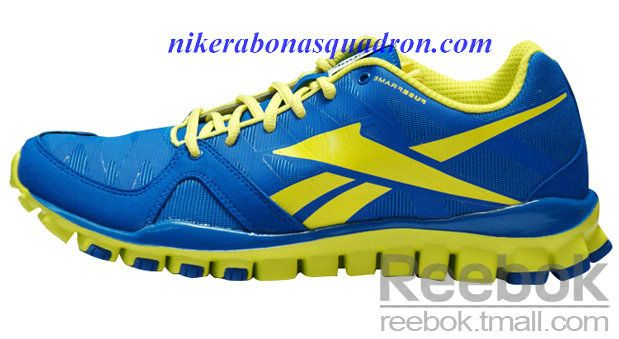 bdca26b51434 Reebok Realflex Transistion 3.0 Mens Running Shoes Snorkel Blue Chrome  Yellow J99473
