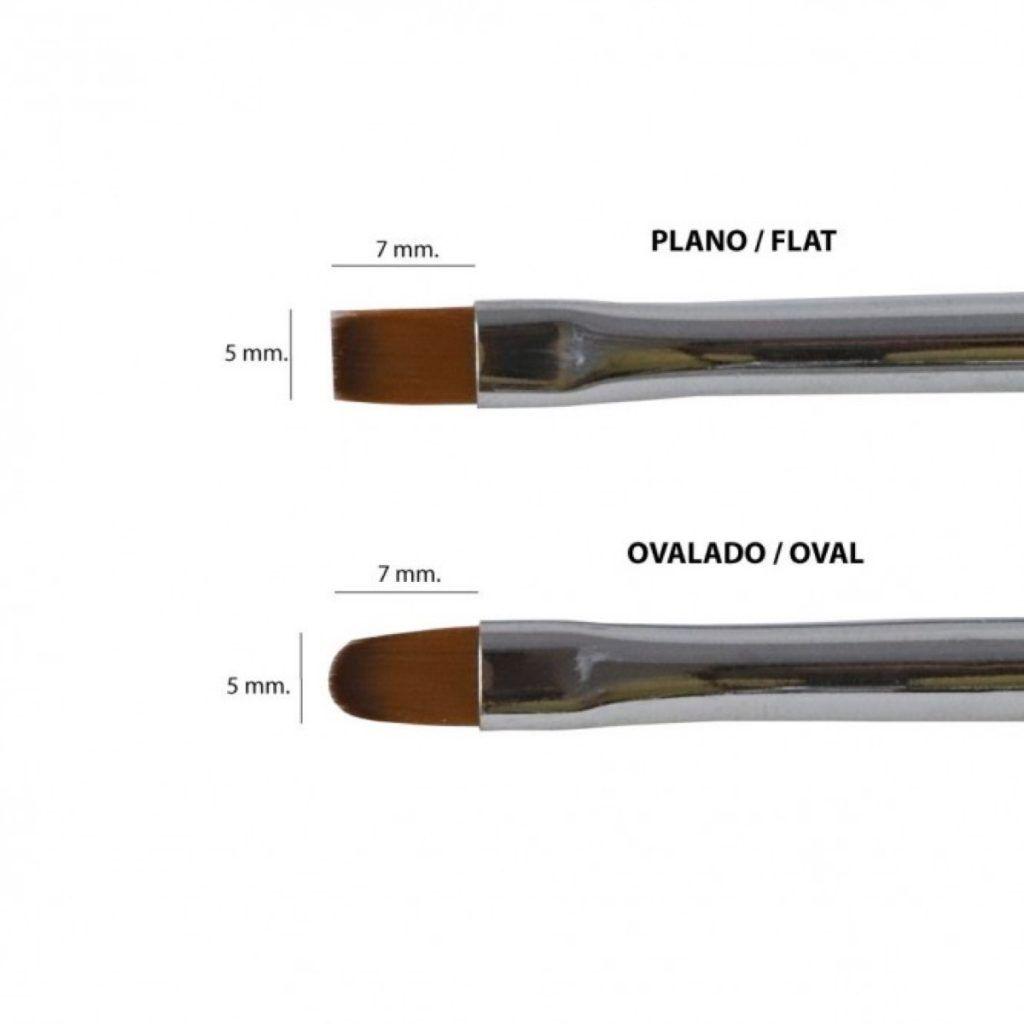Diferencias Entre Pinceles Para Gel Y Acrílico Tu Rincón De Estética Pinceles Pinceles Para Uñas Estetica