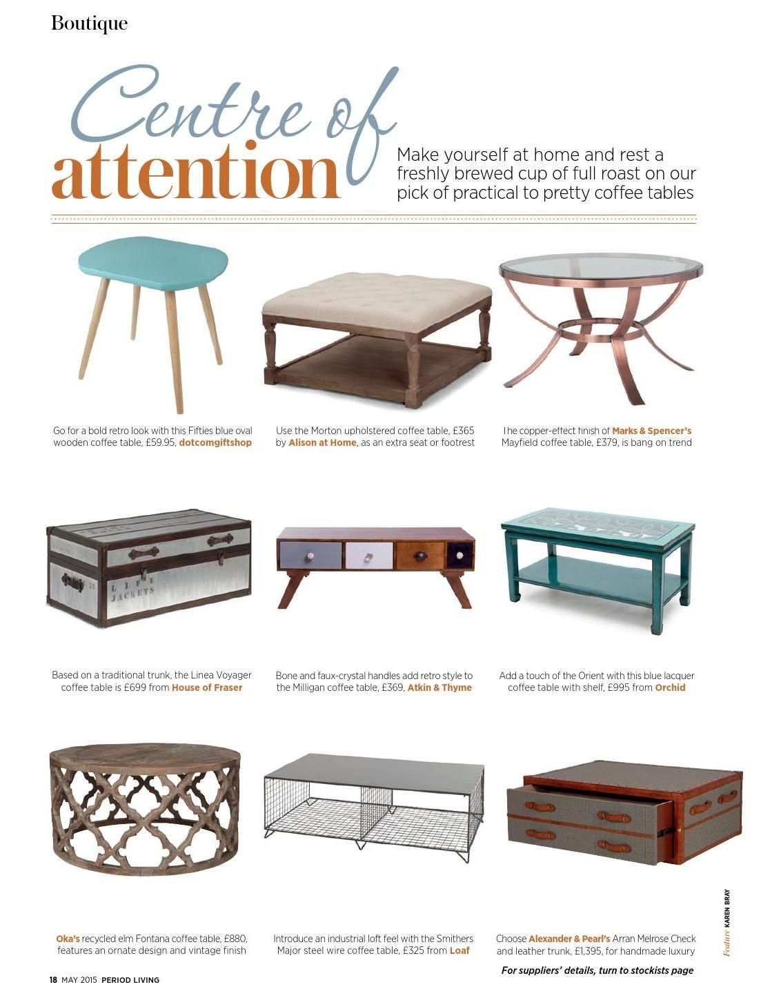 Center of attention with coffee tables from period living 2015 05 center of attention with coffee tables from period living 2015 05 geotapseo Gallery