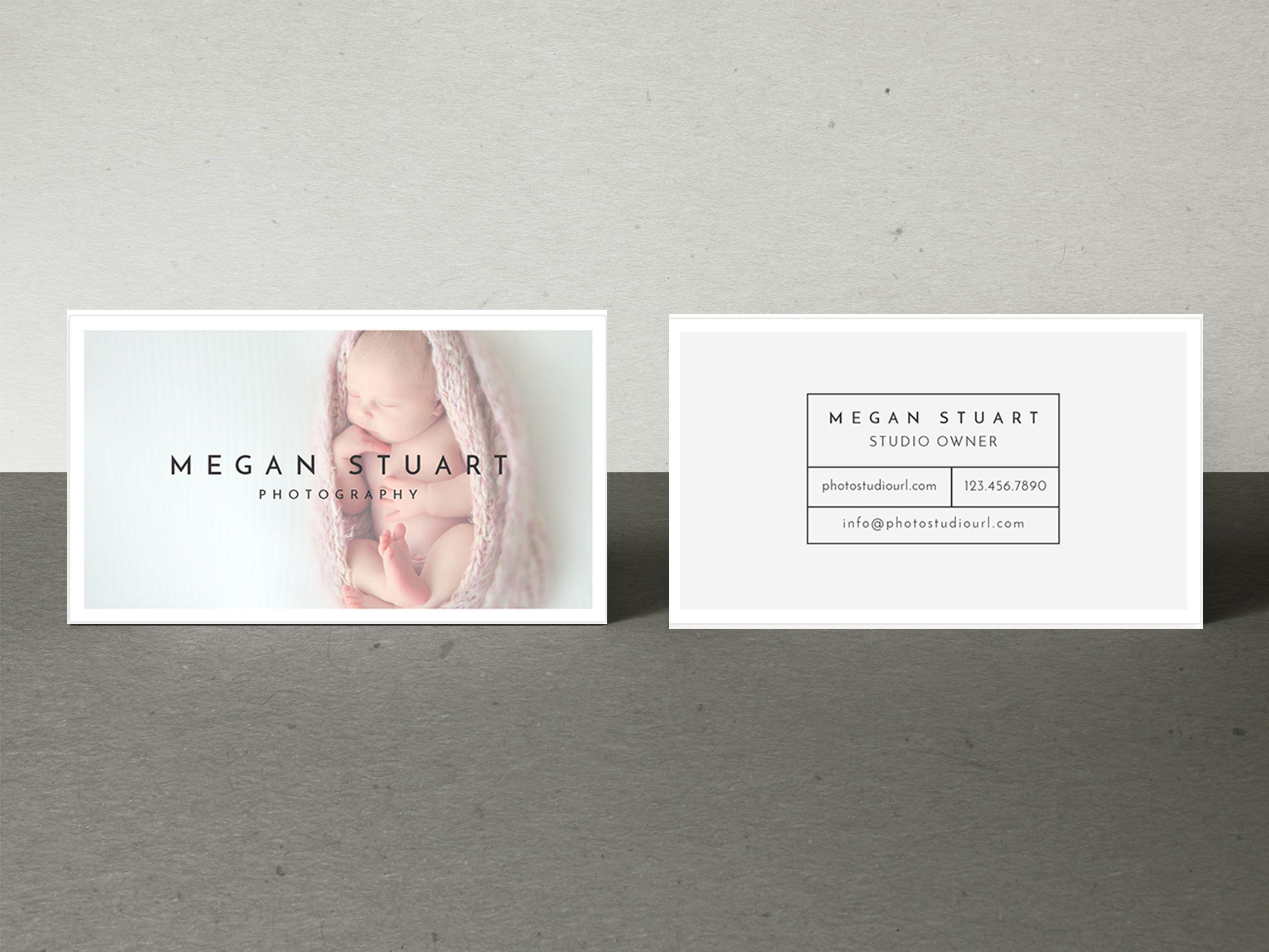 Newborn Photography Business Card Template Mockaroon Newborn Photography Business Cards Photography Business Cards Template Photography Business Cards