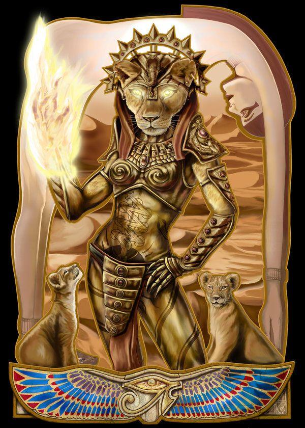 Sekhmet Art  I could see the head being my Sekhmet piece.