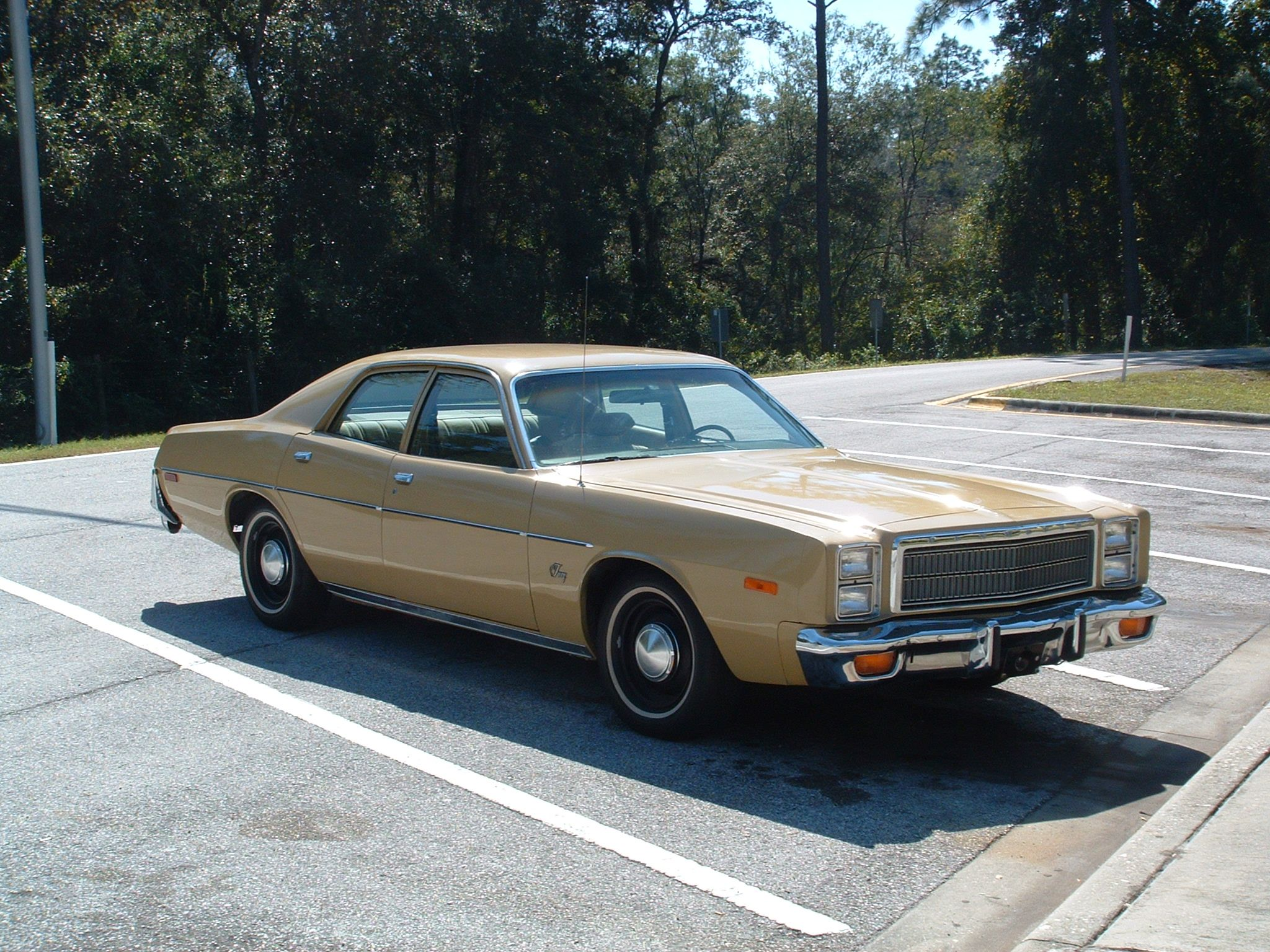 My first car was a 1977 Plymouth Fury (looked just like this 1978 ...