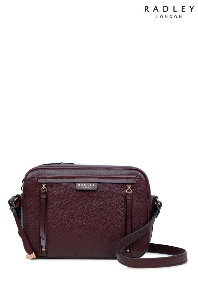 7b3ec06c9b4 Womens Radley London Red Penhurst Zip Medium Zip Top Cross Body Bag ...
