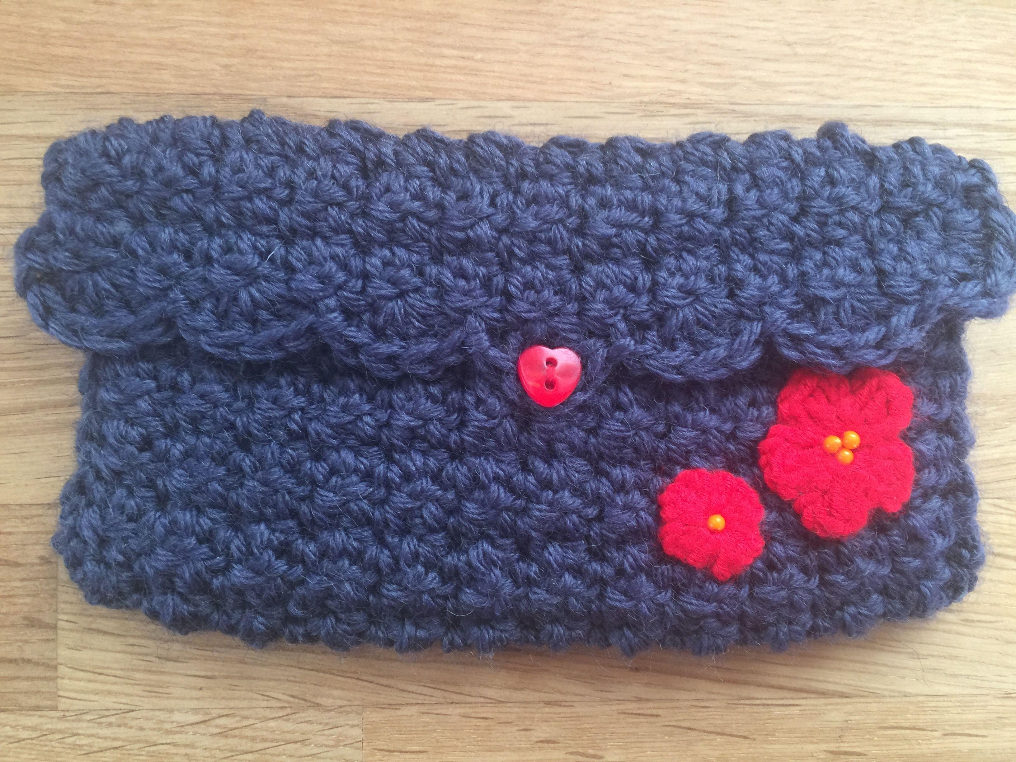 I Phone pocket crochet