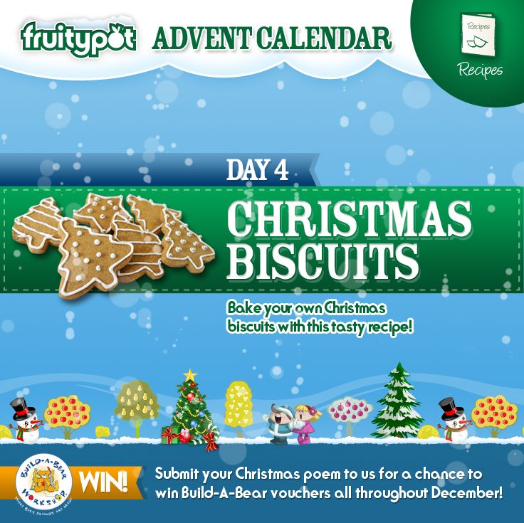 Christmas Biscuits Http Blog Fruitypot Co Uk Recipes Christmas Biscuits Fruitycountdown Fruity Christmas Biscuits Christmas Poems